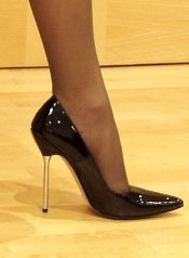 A Classic High Heel Shoe